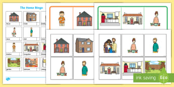 The Home Aistear Bingo - ROI, Topics,  House, sitting room, ironing board