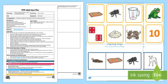 EYFS I Know a Word... Adult Input Plan and Resource Pack - Phase 1, Aspect 4, Rhythm, Rhyme, letters and sounds, phonics, rhyme, rhyming words, match, hear, li