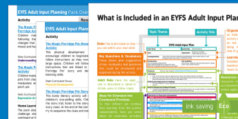 EYFS The Magic Porridge Pot Adult Input Planning and Resource Pack Overview - early years planning, EYFS, Foundation, topic plan, traditional tales, porridge capacity, porridge p