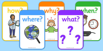 Who What Where When How Cards - Reading, reading prompt, who, what ,where, when, how guided reading, reading question, reading questions, parent, parents, reading comprehension, guided reading questions, Five Ws