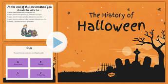 Halloween Quiz PowerPoint and Comprehension Activity Sheets- roi, republic of ireland, ireland, history, halloween