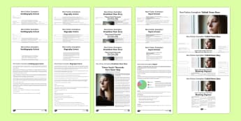 Non-Fiction Texts Exemplars Resource Pack - General Secondary English Resources, non-fiction texts, exemplars, report, review, broadsheet, tablo