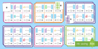 Number Shapes Number Bonds to 10 Bingo - numicon, bingo game, addition, SEN, games, bonds to 10, to 10, kinesthetic