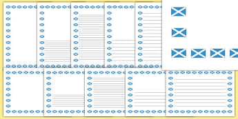 Dundee Page Borders - geography, scotland, dundee, towns, cities, location, writing, display, cfe