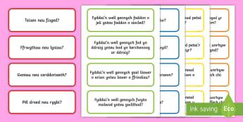 100 o Gwestiynau Hwyl Amser Cylch - 100, o, Gwestiynau, Hwy,l Amser, Cylch