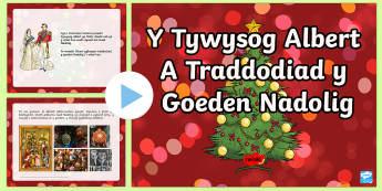 Pŵerbwynt Y Tywysog Albert a'r Goeden Nadolig - dolig, Oes Fictoria, Victorian, Nadolig, ndolg, Christmas, Tywysog Albert, Prince Albert, Coeden Nadolig, Christmas Tree,