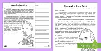 Citirelectură Text Nonliterar Informativ Materiale Didactice