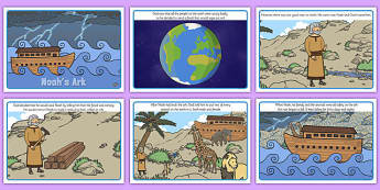 Noah's Ark Story - christianity, stories, religion, religious