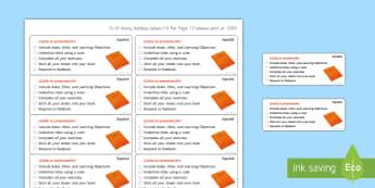 Time-Saving Marking Presentation Stickers Spanish - Time Saving, Spanish, Marking, Stickers, presentation