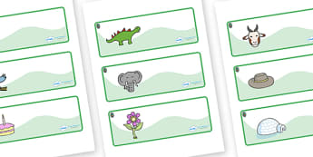 Opal Themed Editable Drawer-Peg-Name Labels - Themed Classroom Label Templates, Resource Labels, Name Labels, Editable Labels, Drawer Labels, Coat Peg Labels, Peg Label, KS1 Labels, Foundation Labels, Foundation Stage Labels, Teaching Labels