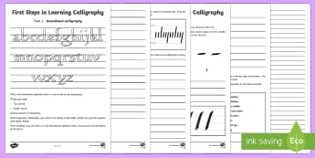 Handwriting Primary Resources - KS2 - Page 3