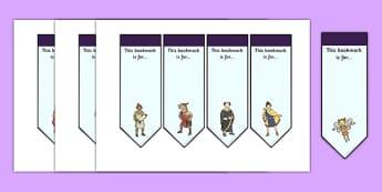 A Midsummer Night's Dream Bookmarks - midsummer, dream, bookmark