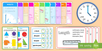 Measurement Display Pack LKS2 - measurement, display pack, lks2