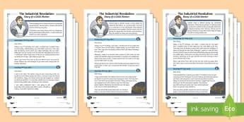 History Of Britains Industrial Revolution For Ks2