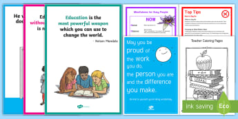Teacher Well Being Toolkit Resource Pack - well being, teacher, pack, toolkit