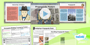 PlanIt Y5 World War II: Battle of Britain Lesson Pack Persuasive Writing (1)