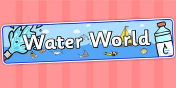 Water World Display Banner - water world, IPC, water world IPC, IPC display banner, waterworld display banner, waterworld display, IPC display