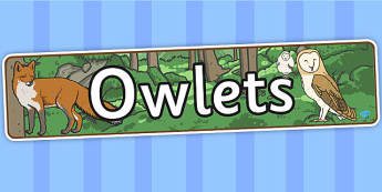 Owl Babies Display Banner - Owl Babies, Martin Waddell,  story, story book, story book resources, story sequencing, story resources, owl, family, PSHE, PSE, living things, banner, display