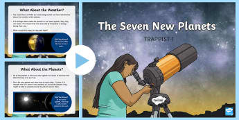 TRAPPIST-1: The Seven New Planets PowerPoint - Trappist-1 ,Planets, Seven new planets, Discovery, World Record, News, Telescope, Solar System, Star