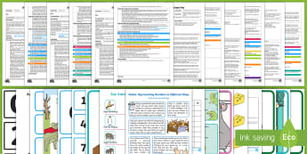 EYFS Maths: Beginning to Represent Numbers... Adult Input Planning and Resource Pack - EYFS, Early Years planning, Adult Led, Maths, Mathematics, 30-50, Beginning to represent numbers usi