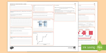 Unit 4.3 Particle Model of Matter Foundation Revision Activity Mat - density, states, changes, internal energy, specific heat capacity, latent, gases, pressure