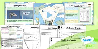 D&T: Let's Go Fly a Kite: Designing LKS2 Lesson Pack 4