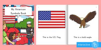 Patriot Day Emergent Reader eBook - patriot day, september 11th, 9/11, ebook, september 11th ebook, 9/11 ebook, USA symbols, America sym