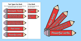 Pencil Themed Recount Writing Prompt Fans - pencil, themed, recount, writing, prompt fans