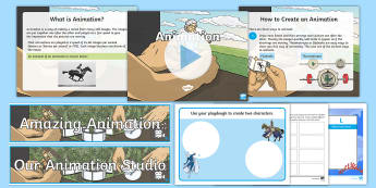 Animation Resource Pack - CfE Digital Learning Week (15th May 2017) Digital learning and teaching strategy, computer science,