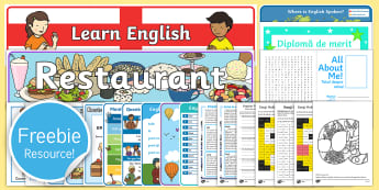 Free English and Romanian Taster Resource Pack - Freebie, Sample, Taste, Test, Tester, Try, Bumper, Learning