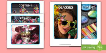 Carnival in Spain Display Photos - Carnaval España, cuaresma, decoración de la clase, decoración de carnaval, disfraz, disfrazar,Spa