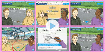 Year 4 Multiplication and Division Maths Mastery PowerPoint Resource Pack - Reasoning, Greater Depth, Abstract, Problem Solving, Explanation,