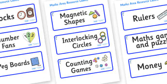 Dolphin Themed Editable Maths Area Resource Labels - Themed maths resource labels, maths area resources, Label template, Resource Label, Name Labels, Editable Labels, Drawer Labels, KS1 Labels, Foundation Labels, Foundation Stage Labels, Teaching Lab