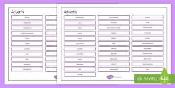 French Adverbs Word Mat - French, Grammar, mat, word, adverbs,French