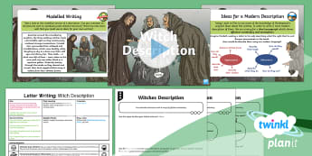 Significant Author: Macbeth: Letter Writing 1 Y6 Lesson Pack - English planning, elizabethan, play, Shakespeare, witches, letter, informal letters