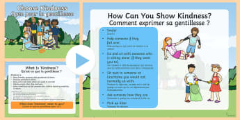 Kindness Week PowerPoint English/French - Twinkl Kindness Week, kindness week, twinkl kindness week, kind resources, assembly, Kind Assembly,