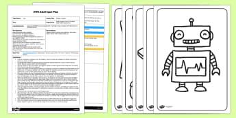 EYFS Making Jigsaws Adult Input Plan and Resource Pack - Toy, jigsaw, puzzle, scissor, motor skills, fine motor, cut, cutting
