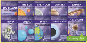Space Facts Posters - space, facts, posters, science, display