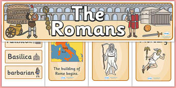 The Romans Display Pack - the romans, display pack, display banner, display photos, display, resource pack, display lettering, resources, classroom display