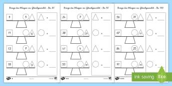 Mathematik Größen und Messen Primary Resources