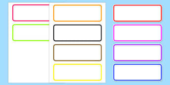 Editable Drawer Peg Name Labels - labels, signs, name labels
