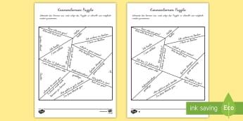 Kennenlernen Puzzle - Kennenlernen Puzzle, Kennenlernen, kennen lernen, Kennenlerngespräch, Englisches Gespräch, Englisc