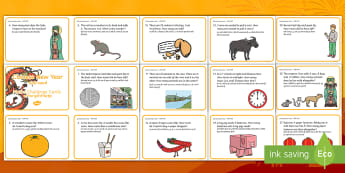 Year 1 Chinese New Year Maths Word Problem Challenge Cards English/Hindi - New year, addition, subtract, maths, fun maths, chinese new year, festival.