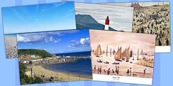 Seascapes and LS Lowry Photo Pack - photo pack, ls lowry, pack