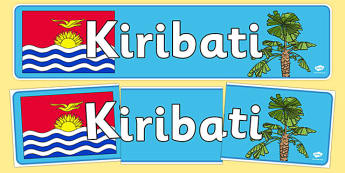 Kiribati Display Banner