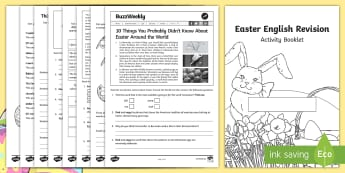 SATs Survival Year 6: Easter English Revision Activity Booklet - SATs Survival Materials Year 6, SATs, assessment, 2017, English, SPaG, GPS, grammar, punctuation, sp