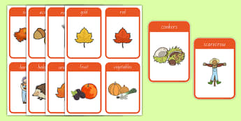 Autumn Flashcards
