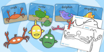 Story Sack Resource Pack to Support Teaching on Commotion in the Ocean - story sack, story books, story book sack, stories, story telling, childrens story books, traditional tales