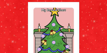 Christmas Sticker Reward Chart (15mm) - Christmas Sticker Reward Chart, christmas, xmas, santa, reward chart, chart, reward, 15mm, 15 mm, stickers, twinkl stickers, award, certificate, well done, behaviour management, behaviour, christmas meal, crack
