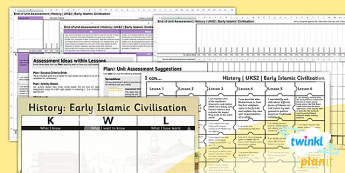 History: Early Islamic Civilisation UKS2 Unit Assessment Pack